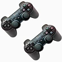 Kit 2 Controles Ps3 Sem Fio Feir Ps3 Dualshock Playstation 3 Wireless