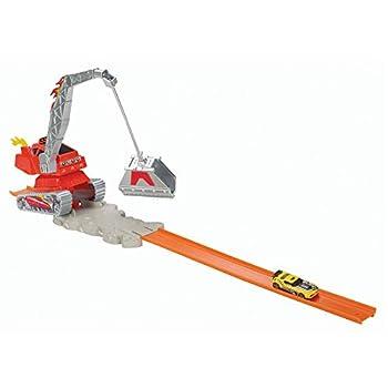 Hot Wheels Crane Crasher Trackset by Hot Wheels