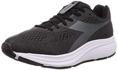 DIADORA, Zapatilla de Running para Hombre, Kuruka 4, Negro-Negro, C7406, EU Size IT 44.5 UK 9.5