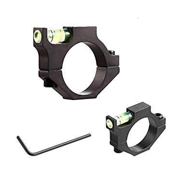 Dasen  2 Pack  Anti-Cant Scope Bubble Level for Precision Shooting Fits 1 inch Tube