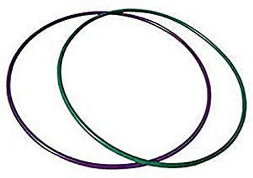Softee Equipment 0010571 Aro de Rítmica, Verde, 72 cm