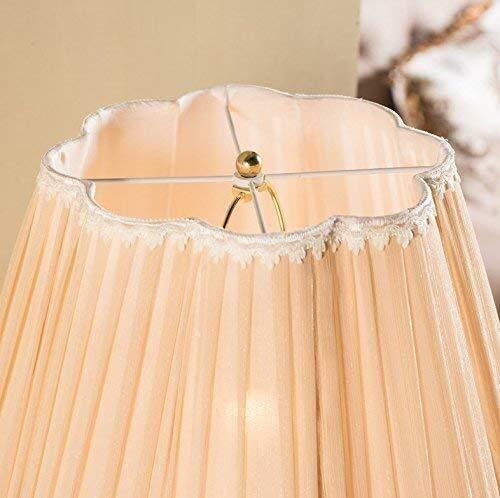 BXU-BG Lámparas de pie, Lámparas Led cristalina creativa Lavish cobre retro dormitorio Den Sala de estar Lámpara de piso, decorativo Eye-El cuidado de luz vertical