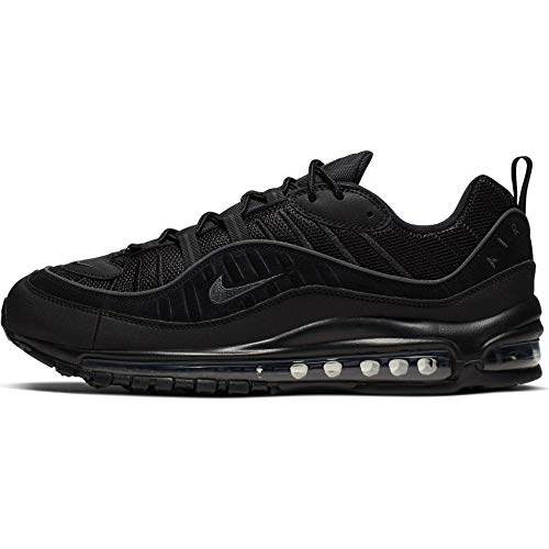 Nike Air Max 98 Chaussures de Sport Noir/Anthracite Taille 7