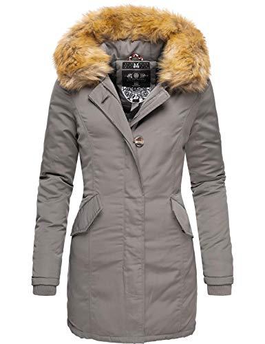 Marikoo Karmaa Cappotto Invernale da Donna XS-5XL Grigio M