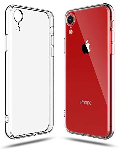 Shamo's Funda compatible con iPhone XR Transparente Absorción de choque TPU Cubierta Transparente de gel de goma