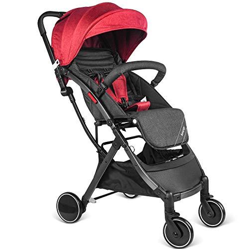 Besrey Silla de paseo de bebe Compacta y Ligera Cochecito para Viaje Plegable Carritos de Bebe 3 años