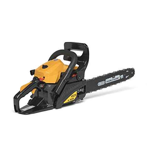 acheter avis Alpina 228216000/10 A 4000 chainsaw, 40.1 cm3, yellow / black, guide rail length 40 cm Castel