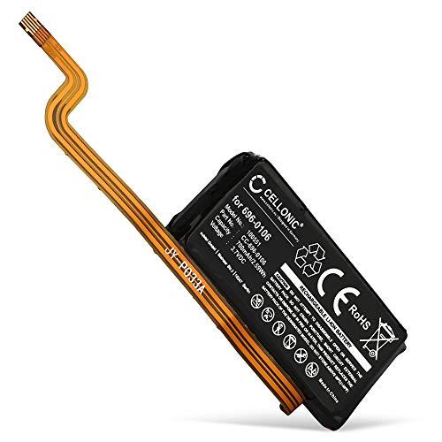 CELLONIC® Qualitäts Akku kompatibel mit Apple iPod 5 A1136 (Video), iPod 5.5 A1136 (Video - MA448LL/A), iPod Classic 6. Gen. 160Gb - A1238, 616-0232,696-0106 700mAh Ersatzakku Batterie
