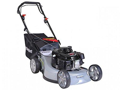 Masport Tondeuse thermique professionnelle autotractée 54 cm - Aluminium - Mulching - Ejection latérale - Honda GXV160 OHV