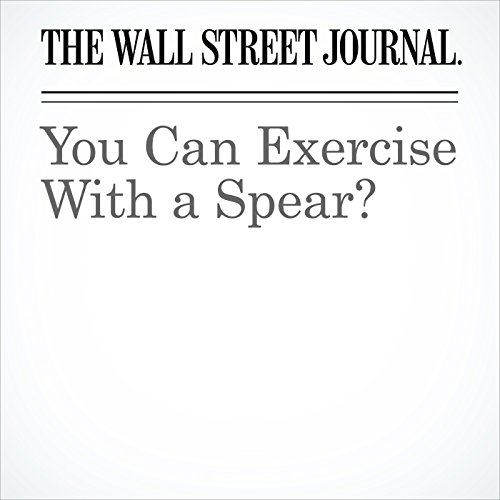 You Can Exercise With a Spear? copertina