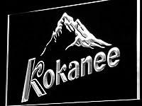 Kokanee Beer LED看板 ネオンサイン ライト 電飾 広告用標識 W60cm x H40cm ホワイト
