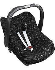 Dooky Seat Cover Matrix do nosidełka dla niemowląt rozmiar uniwersalny pasujący do 3 i 5 punktowego systemu uprzęży, dla grupy wiekowej 0+, czarny