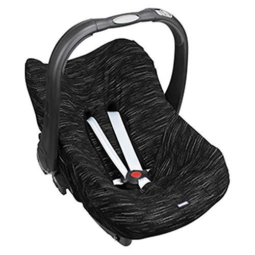 Original Dooky Seat Cover Schonbezug Matrix für Babyschale Universalgröße geeignet für 3 und 5 Punkt Gurtsystem Autositz, für Altersgruppe 0+, schwarz