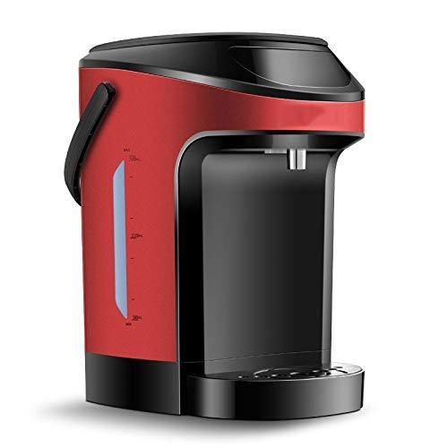 YWSZJ Tipo instantánea Fuente de Agua Potable Caldera eléctrica de sobremesa Fast Heat Inicio Máquina de Agua (Color : Red)
