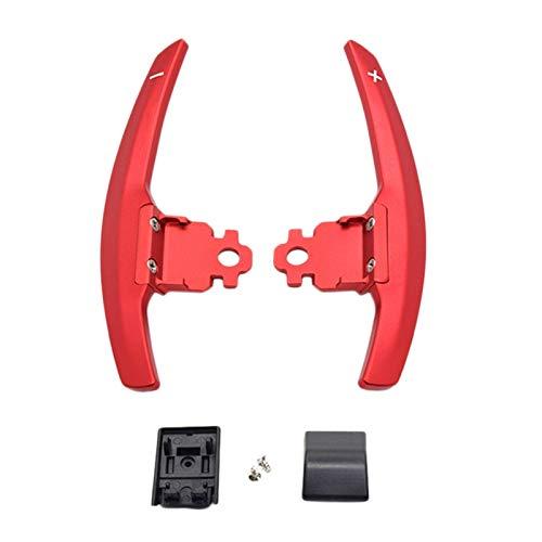 Nrpfell Rote Lenken Rad Schalten Paddel Verl?Ngerung für F36 F21 F22 F32 F30 F02 F80 F11 F06 F20 F23 F10 F12 F26 F15 M3 M4 M5