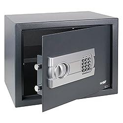 HMF Tresor Safe Möbeltresor mit Elektronikschloss