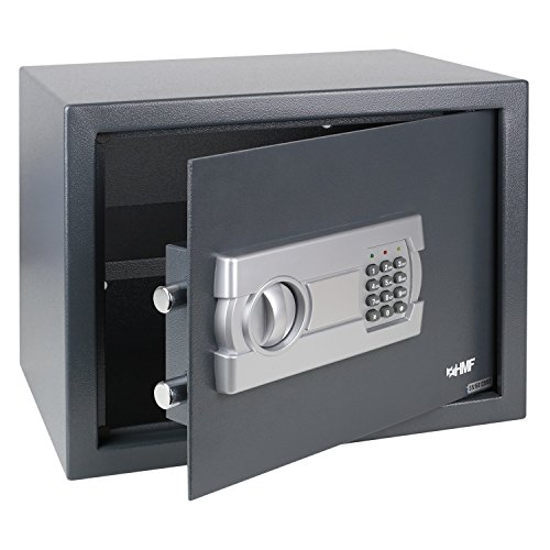 HMF Tresor Safe Möbeltresor Elektronikschloss 380 x 300 x 300 mm