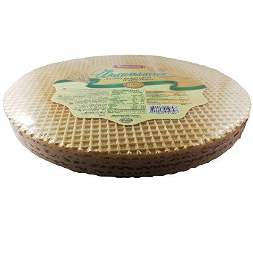 Waffelblätter Tortenplatten Waffelplatten 3er Pack (5 x 100 g) 15 Stück