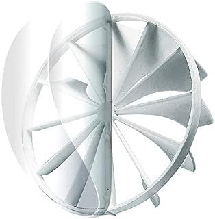 Backdraft Shutter - Fans Back Valve - Damper Inline Plastic Valve - Insertable Vent Valve (4