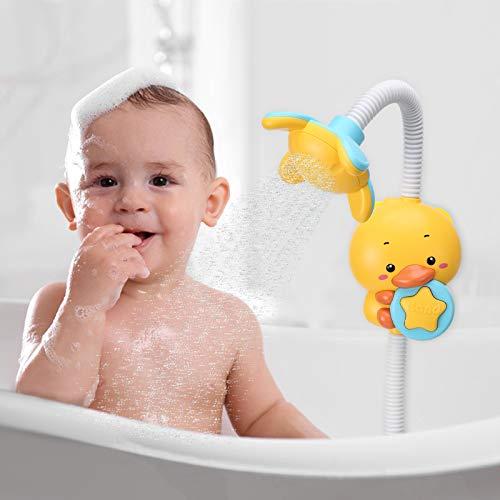 NOBLE DUCK Bath Toys Baby Toddler Toy for Pool Bathtub Water Shower Head Kids Children Gift for Boys Girls