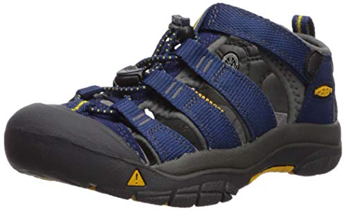 KEEN Big Kid (8-12 Years) Newport H2 Blue Depths/Gargoyle Sandal - 5 M US Big Kid