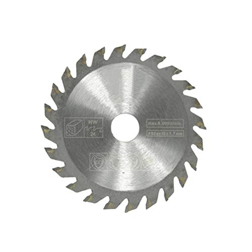 Ballylelly 36 Dientes TCT Discos de Rueda de Hoja de Sierra Circular TCT aleación de carpintería Hoja de Sierra Multifuncional para Corte de Metal de Madera 85x15mm