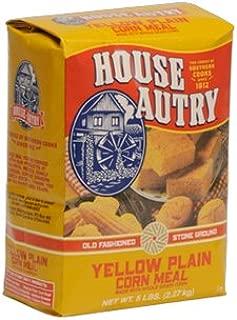 HOUSE AUTRY YELLOW PLAIN CORN MEAL STONE GROUND 32 OZ