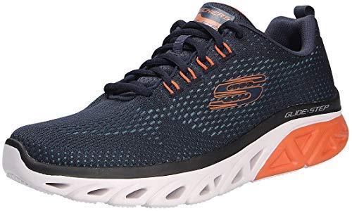 Skechers Glide-Step Sport Wave Heat – azul marino/naranja poliéster