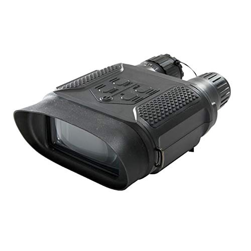 Bradoner Cámara binocular de alta definición de visión nocturna digital de gran pantalla, grabación de fotos, visión nocturna, blanco y negro de doble uso, patrulla de seguridad de caza 22 x 14 x 6 cm