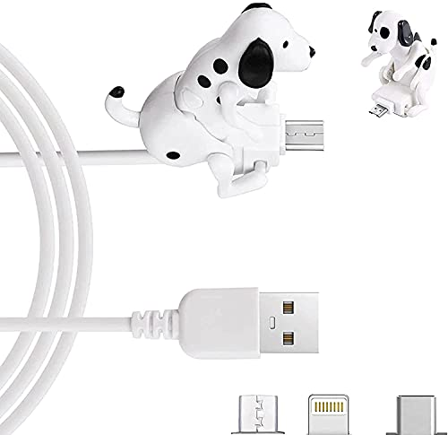 Portable Dog Charging Cable, Funny Humpback Dog Fast Charging Cable, For Different...