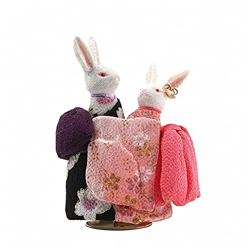 SKK Caja de música de conejo Muppet caja de música roja libélula musical caja de cumpleaños aniversario de San Valentín regalo para él/ella caja de amor