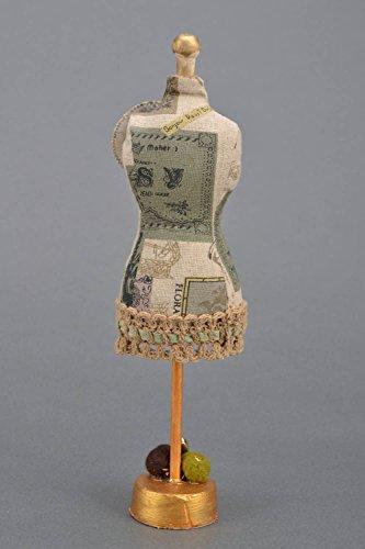 Handmade Iinen Decorative Pincushion Mannequin Art Supply