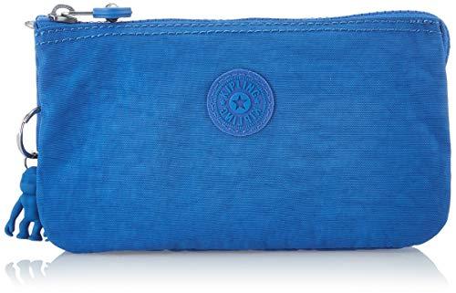 Kipling Creativity L, Monederos para Mujer, Azul (Wave Blue), 18.5x11x1.5 cm