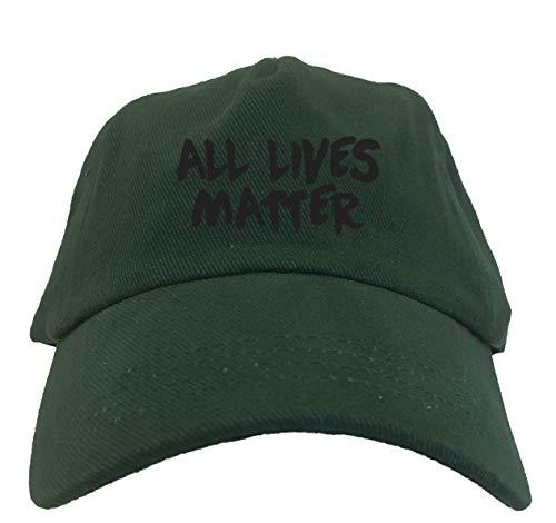 All Lives Matter - Political Movement Dad Hat (Forest Green)