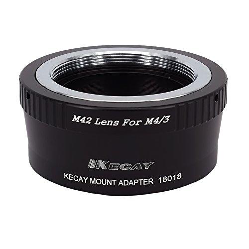 KECAY Adattatore Obiettivo Lente Per M42 (42mm) Screw Mount Lente to Micro 4/3 Four Thirds System Camera Olympus Panasonic Lumix