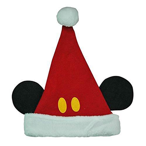 Disney Mickey Mouse Ears Kids Santa Hat