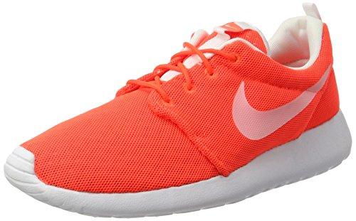 Nike Roshe One Br, Scarpe Running Uomo, Bianco (Total Crimson Orange/Weiß), 46 EU