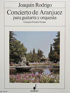 CONCIERTO DE ARANJUEZ - arrangiert für Gitarre [Noten / Sheetmusic] Komponist: RODRIGO JOAQUIN