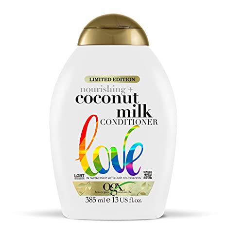 OGX Coconut Milk Conditioner for Dry Damaged Hair, 385ml