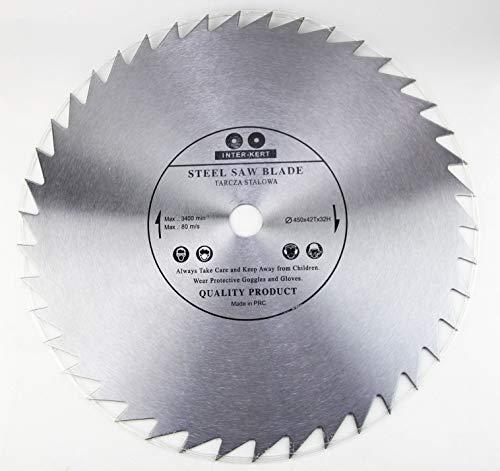 Hoja de sierra circular de 450 mm, de alta calidad, para madera, 450 x 32-20 mm, 42 dientes