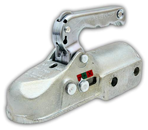 Albe Kugelkupplung EM 350R AUSF. CH Ø 60mm bis 3500 kg Bohrungen seitlich 2x14,5mm ersetzt Knott K 35 C 05761