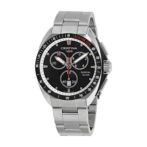 Certina Herren-Armbanduhr XL DS Royal Chronograph Quarz Edelstahl C010.417.11.051.00