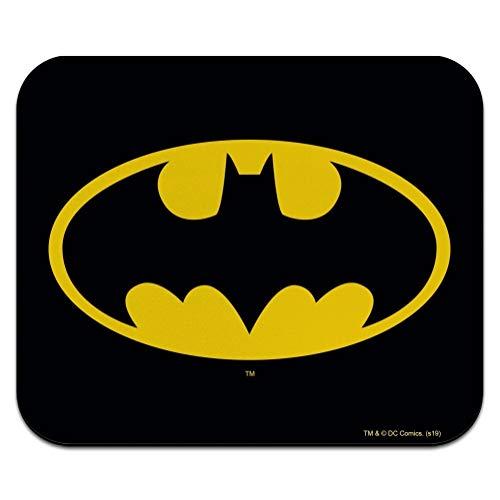 Batman Classic Bat Shield Logo Low Profile Thin Mouse Pad Mousepad