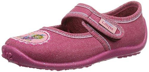 Prinzessin Lillifee Mädchen 230209 Flache Hausschuhe, Pink (pink), 30 EU