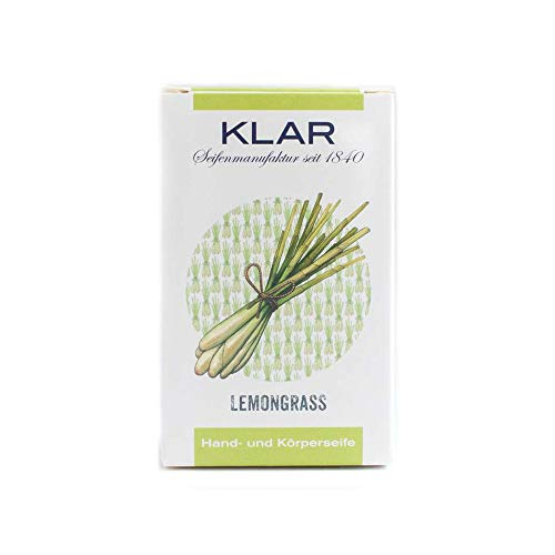 Klar´s Seifenmanufaktur Lemongrass Seife