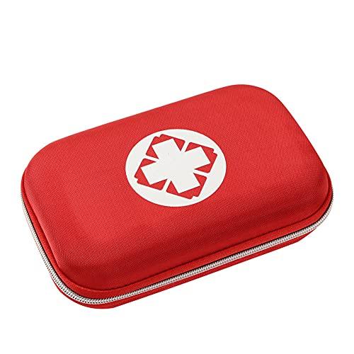 Botiquín de Primeros Auxilios, Bolsa Médica Portátil Bolsa Médica Vacio Bolso de Primeros Auxilios Bolsa de Medicinas para Coche Camping Viajes