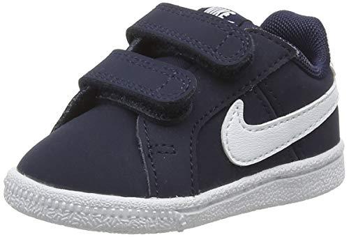 Nike Court Royale (TDV), Zapatillas de Gimnasia Unisex Niños, Azul (Obsidian/White), 21 EU