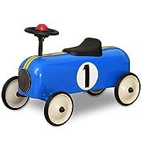 ARTABURG リトル メタル カー 【ブルー】 乗用トイ 乗用玩具 足けり スチール レトロ クラシック