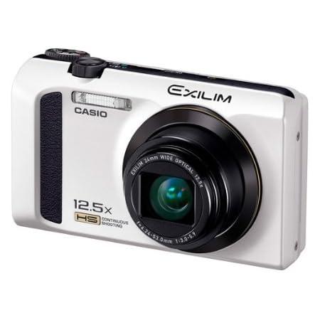 CASIO カシオ デジタルカメラ EXILIM EX-ZR300WE ホワイト ハイスピード 高速連写