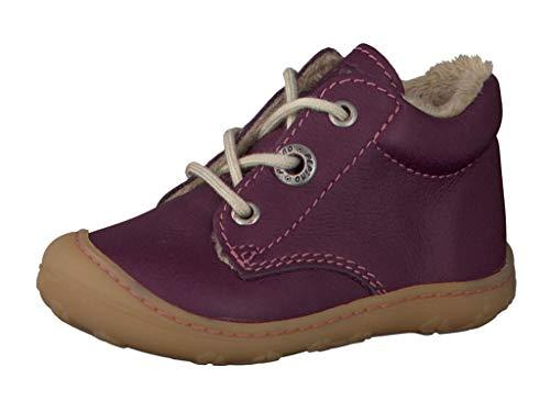 RICOSTA Pepino Mädchen Winterstiefel CORANY, WMS: Mittel, Winter-Boots Outdoor-Kinderschuhe warm gefüttert Kind-er Kids,Merlot,19 EU / 3 UK